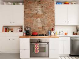 cleaning white kitchen cabinets kitchen with brick walls and white cabinets cleaning white kitchen