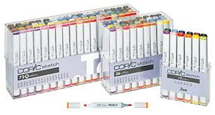 best art markers for artists copic prismacolor chartpak sharpies