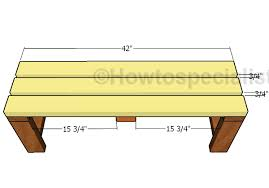 2x4 Easy To Build Bench Plans Howtospecialist How To Build