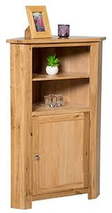 Oak Storage Cabinet Waverly Oak Corner Storage Cabinet In Light Oak Finish Low