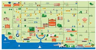 Norfolk Virginia Map by Map Ghent Business Association