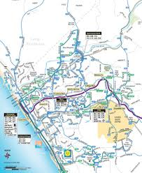 San Diego Transit Map by San Diego County Transit Maplets