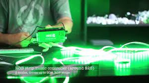 green halloween lights sync your lights to music for halloween youtube