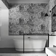Wallpaper Ideas For Bathroom Bath Bridge Bathroom Wallpaper Wallpaper Ideas And Bathroom Renos