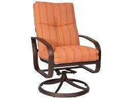 Swivel Rocker Patio Chairs by Woodard Cayman Isle Swivel Rocker Chair Replacement Cushions