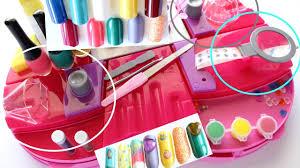 kids nail design station toys turned fun my pink nail station