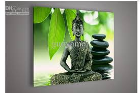 Art Decoration For Home 2017 Religion Buddha Wall Art Oil Painting On Canvas Paintings