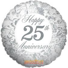 25th Anniversary Wishes Silver Jubilee 6 Best Images Of Happy 25th Anniversary Happy 25th Wedding