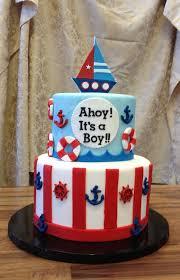 Boy Baby Shower Cakes Pics ahoy its a boy ba shower cake jenny