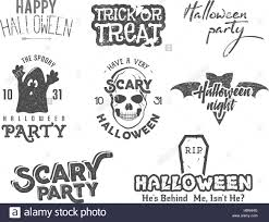 halloween 2016 party vintage labels tee designs with scary