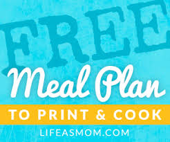 meal plan for thanksgiving printable thanksgiving meal plan