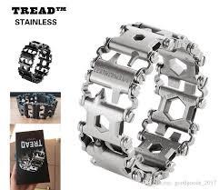 leatherman bracelet images Leatherman tread followers creative fashion tools bracelet jpg