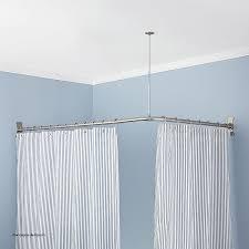 Bathroom Shower Curtain Rod Curtains P Shaped Shower Curtain Rail Unique Corner Shower Curtain