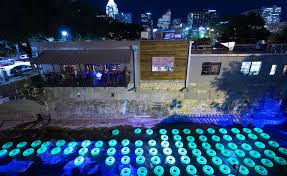 waller creek light show the creek show in austin texas luxe light and home