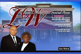 milwaukee funeral homes welcome to l williamson funeral home