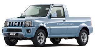 suzuki pickup truck sure we ll take this suzuki jimny pickup rendering carscoops