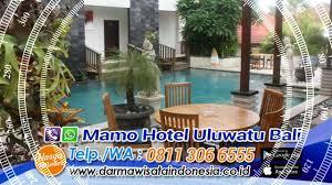 info petunjuk reservasi hotel mamo hotel uluwatu bali youtube
