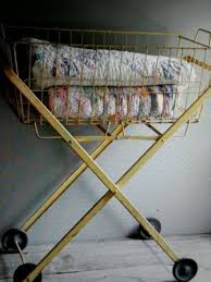 Ideas For Laundry Carts On Wheels Design 13 Best Vintage Rolling Laundry Carts Images On Pinterest