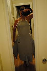 how to make a swimmer getting eaten by a shark halloween costume