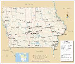 road map of iowa usa where is iowa state where is iowa located in the us map iowa