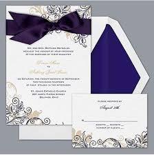 Wedding Invitations With Ribbon Goes Wedding Best Formal Wedding Invitation Design With Ribbon