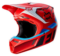 cool motocross helmets fox racing v3 seca helmet revzilla
