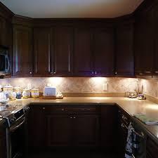 under cabinet lighting plug in le led under cabinet lighting kit 1020lm puck lights 3000k warm