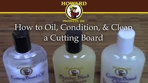 how to oil condition clean a cutting board youtube how to oil condition clean a cutting board