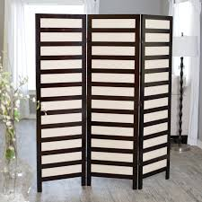 photo room divider kavari canvas 3 panel room divider rosewood hayneedle