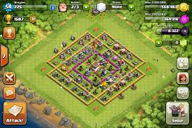 pin it if u play clash of clans clash of clans base pinterest