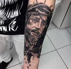 50 jesus forearm designs for ink ideas