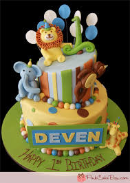 zoo themed birthday cake topsy turvy animal kingdom cake celebration cakes animal kingdom