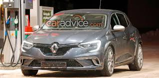 renault hatchback from the 1980s renault megane rs mule spied with flares