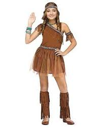 themes indian girl indian maiden pocahontas sacagawea child costume girls cherokee