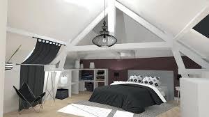 chambre gris et aubergine intérieur de la maison meuble amenagement chambre aubergine