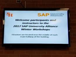sap university alliances winter workshops 2017 sap blogs