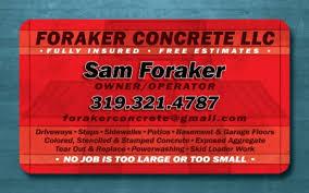 concrete business cards logos business cards c true designs graphic design cedar