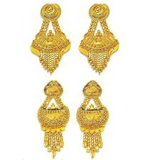 bengali gold earrings gold earrings view specifications details of gold earrings by