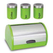 28 green kitchen canisters mad men era kitchen canister set