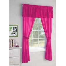 Girls Bedding And Curtains by Your Zone 5 Piece Poodle Girls Bedroom Curtain Set Walmart Com