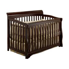 Sorelle Mini Crib Sorelle Florence 4 In 1 Crib With Mini Rail In Espresso 535 E