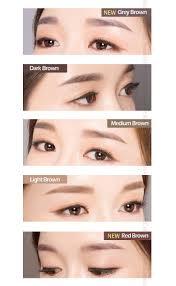 light grey eyebrow pencil beauty box korea a pieu edge brow pencil 0 35g best price and