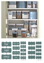 Kitchen Storage Labels - about pantry labels on pinterest organized pantry pantry storage u2026