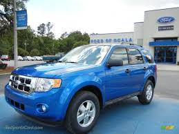 Ford Escape Blue - 2012 ford escape xlt in blue flame metallic c76343 jax sports