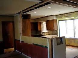 Kitchen Open Floor Plan Galley Kitchen Open Floor Plan Remodel By Homework Remodels Youtube