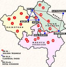 best tourist map of india tour the best emerging tourist spots classic taj tours