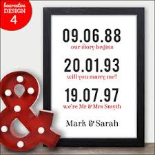 20 years anniversary gifts personalised 20th wedding anniversary gifts 20th anniversary