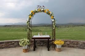 wedding arbor rental chattooga farm weddings events rentals