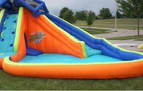 inflatable backyard water slides sportspower big wave inflatable