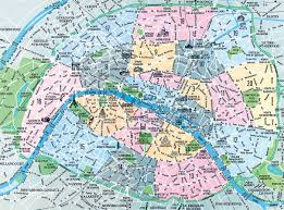 Lourdes France Map by Map Of Paris Arrondissements Top Arrondissement Sights